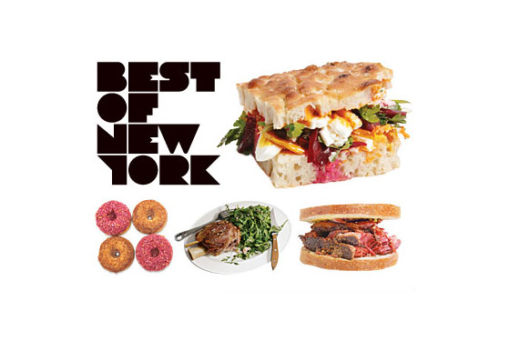 'Best of New York' Food, 2010