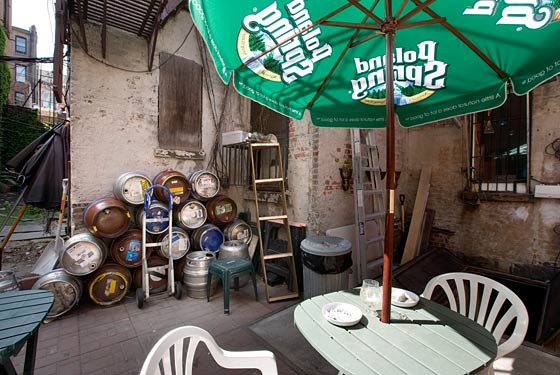 The Brazen Head's back patio is safe for another decade.