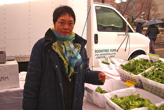 Greenmarket Goddess Nevia No Is Back on the Circuit