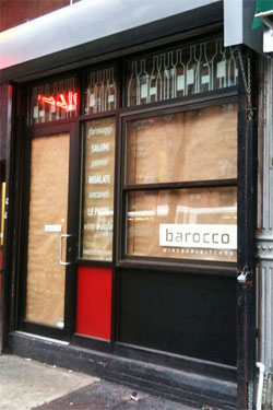 Barocco Closes in Chelsea