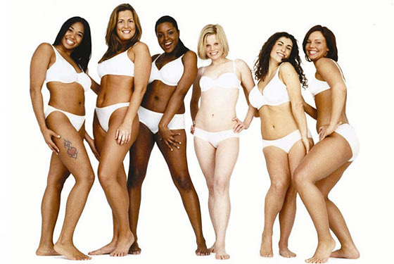 Dove Real Women Models