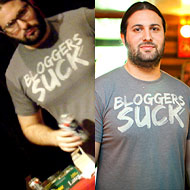 BREAKING SCANDAL: Camac Wears &#8216;Bloggers Suck&#8217; Shirt TWICE