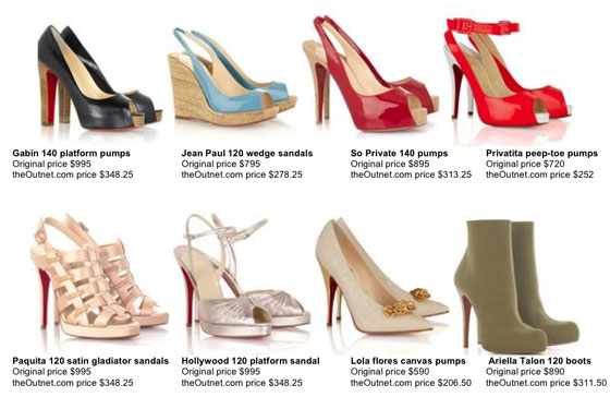 replica red bottom shoes for men - TheOutnet\u0026#39;s Christian Louboutin Sale Starts at Noon -- The Cut