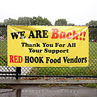 Red Hook Food Vendors Head Back to the Ball Fields This Weekend