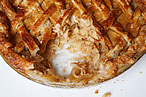 Salted-caramel apple pie.