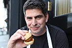 Kenmare Chef Joey Campanaro Breakfasts on Bacon-Pancake Burritos