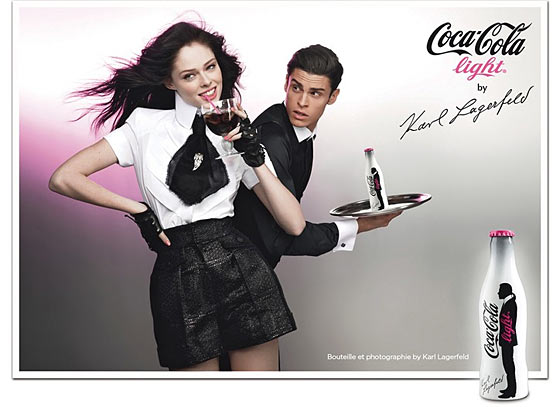 Karl Lagerfeld's New Coke Campaign; ANTM Winner Lands Modeling Work