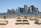 Outdoor Openings: Frying Pan, Water Taxi Beach, Rooftops, a Burger Garden, and More