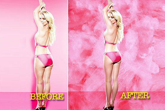 See Britney's Unretouched Candie's Ads