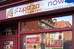Crunchy, Awkwardly Named Chains Invade West Side: Zpizza, 'sNice, and Slice, the Perfect Food
