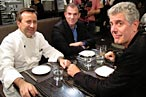 Bourdain, Boulud, and Bruni Engage in 'Food Porn' Threesome