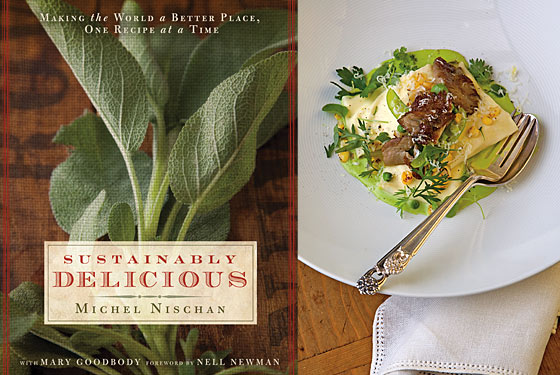 Celebrate Earth Day With Michel Nischan's Sweet Pea Ravioli