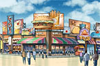 Coney Island May Be Further Cheapened by Fast Food