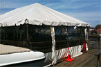 There's This Tented, Waterfront Biker Bar That's Pretty Great