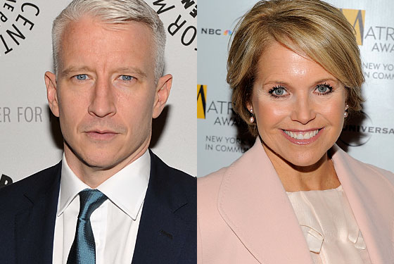 Anderson Cooper is already a <i>60 Minutes</i> contributor; Katie Couric might be a good replacement for Larry King.