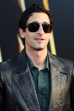 Adrien Brody Avoids a Flirt; Lindsay Lohan Ditches the Drama