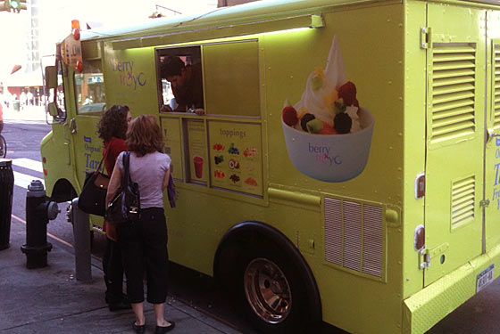 Fro-ly Sh*t! There Is Now a Frozen-Yogurt Truck