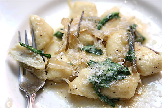 Torrisi's summer-only gnocchi.