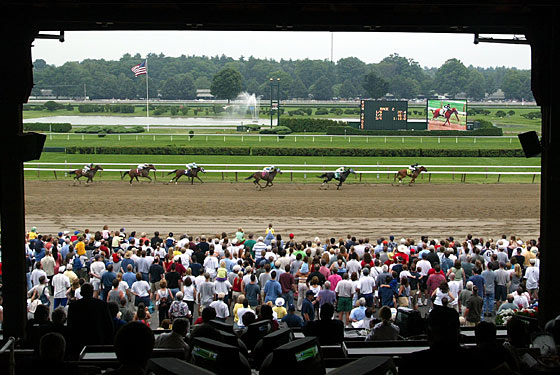 Horse Strides: Saratoga Gets a Shake Shack While The Frankies Do Belmont Stakes