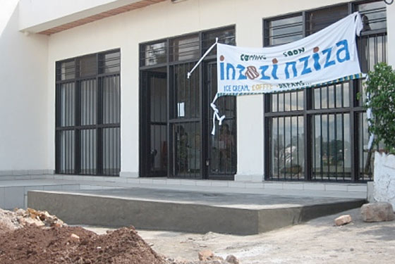 So Cool: Blue Marble Opens Rwanda's First Ice-Cream Shop