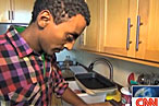 Marcus Samuelsson Busts Out the Baby Photos