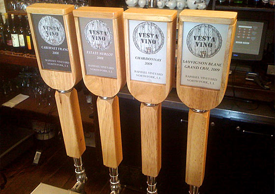 Drink Wine on Tap in Astoria