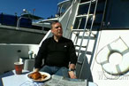 Jacques Torres Catches Fish for DBGB