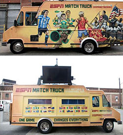 Truckvertising: Kogi Chef Teams With ESPN, Bahamas Truck Gives Out Freebies