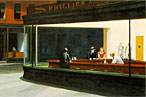 Edward Hopper's <i>Nighthawks</i>: fiction.