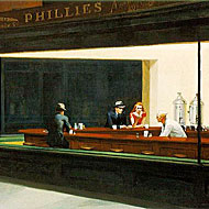Edward Hopper's Nighthawks: fiction.