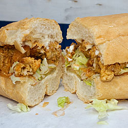 Hold off on your po' boy.