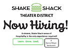 Shake Shack Theater District Aims to Open in Next Weeks