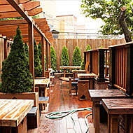 First Look at Williamsburg's Next Beer Garden, Old Rooster