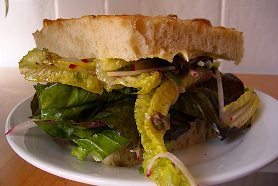 Saltie Makes a Sandwich Almost Entirely Out of Lettuce