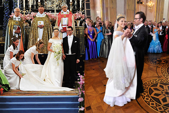 Comoniat Buzz Princess Victoria Sweden Wedding