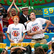 Of Course This Year's Nathan's Hot Dog Eating Contest Might Lead to an 'International Incident'