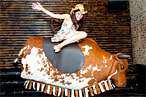Williamsburg's First Mechanical Bull Claims First Victim