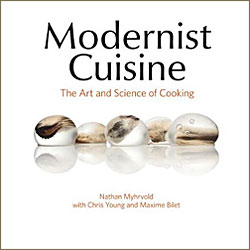 Modernist cuisine nathan myhrvold s 2 200 page cookbook for Amazon modernist cuisine at home