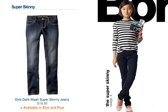 Are 'Skinny' and 'Super Skinny' Jeans Appropriate for Kids? -- The Cut