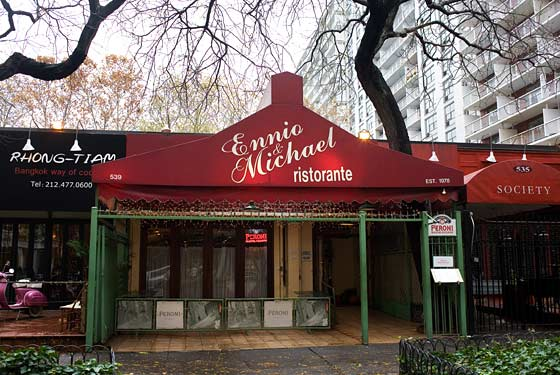 Ennio & Michael Is Set to Close While Neighbor Rhong-Tiam Opens in Murray Hill