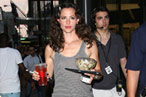 Jennifer Garner Shoots at Le Cirque; Mayor Bloomberg Dines Off the Menu at Aurora