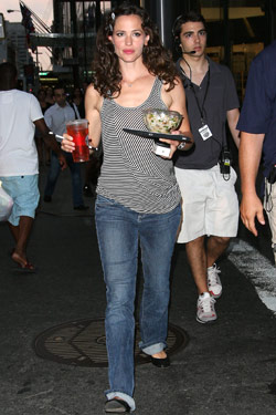 Jennifer Garner Shoots at Le Cirque; Mayor Bloomberg Dines Off the Me