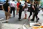 Blockheads Burrito Brawl Is Caught on Tape