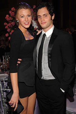 Gossip Girl Dinner Dates for Penn Badgley and Blake Lively; VP Does Otto