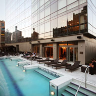 First Look at Bar d'Eau, Opening Tonight at Trump Soho