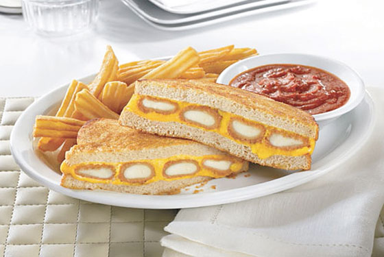Denny's Sticks a Fried-Cheese Melt on Its Menu