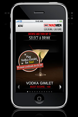Introducing the Mad Men Cocktail App