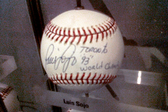 Could the Yankees Not Find a Better Luis Sojo–Autographed Baseball Than This One?