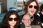 Yoko, John, and Michael, just like old times.