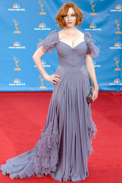 Christina Hendricks outfits